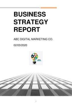 Small business strategic plans 1